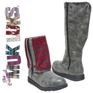 Muk Luks Demi Marl G Boots, 6 NWT